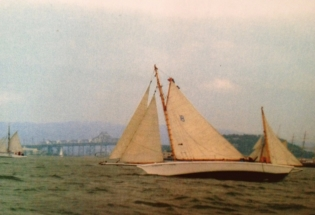 Wood-yacht-sailing-in-san-francisco-bay